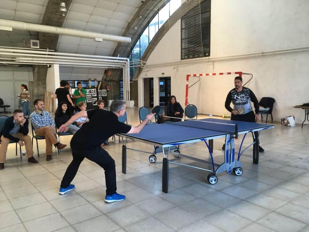 Partido de Ping Pong