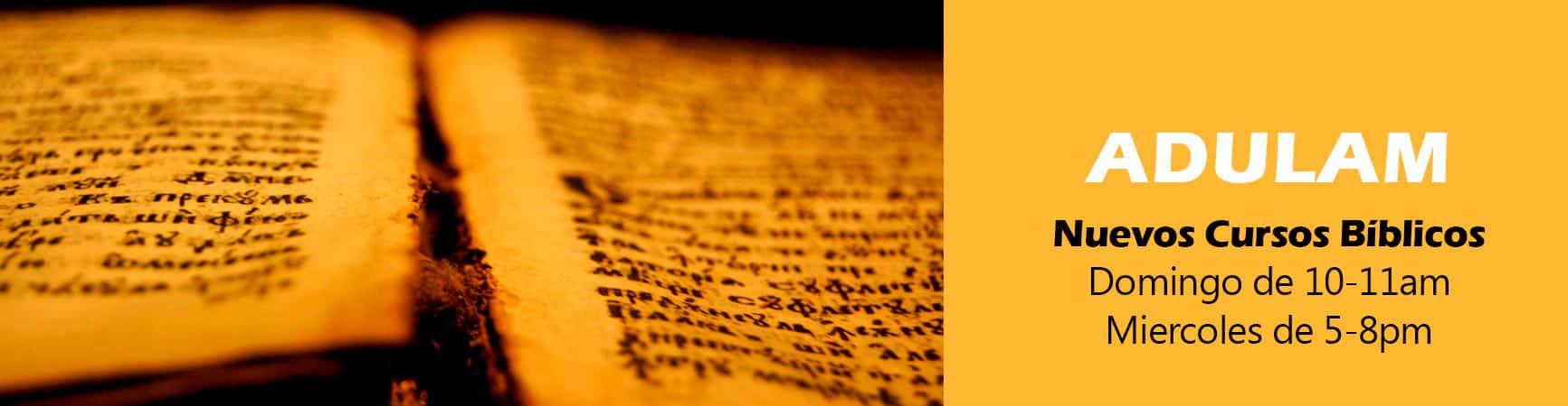 Adulam - Cursos Bíblicos para Crecimiento