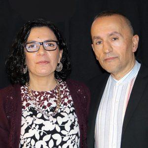 José Luis y Lucia Verdú