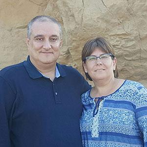 Pastores: Ignacio y Noemí Díez