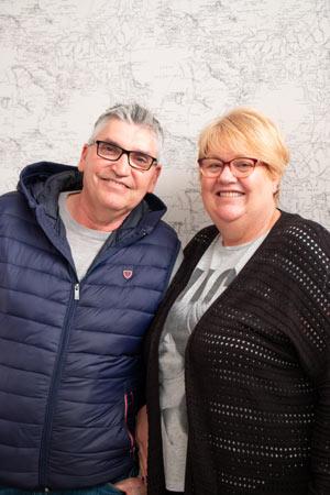 Pastores: Hilario y Teresa Garcia